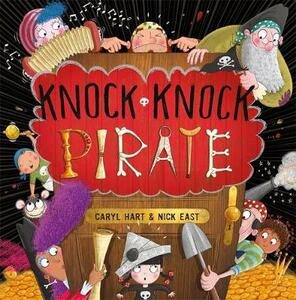 Knock Knock Pirate - Caryl Hart - cover