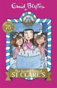 The Second Form at St Clare's: Book 4 - Enid Blyton - cover