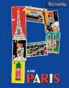 P is for Paris - Paul Thurlby - cover