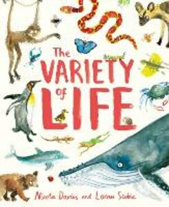 The Variety of Life - Nicola Davies - cover