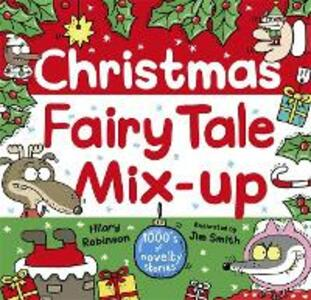 Christmas Fairy Tale Mix-Up - Hilary Robinson - cover
