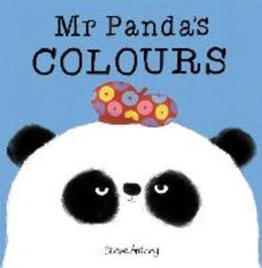 Mr Panda's Colours Board Book - Steve Antony - cover