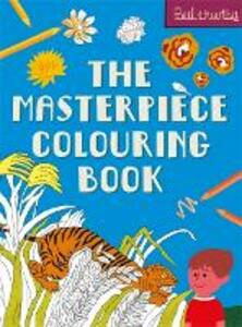 The Masterpiece Colouring Book - Paul Thurlby - cover