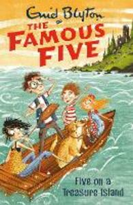 Famous Five: Five On A Treasure Island: Book 1 - Enid Blyton - cover