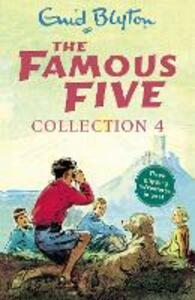 The Famous Five Collection 4: Books 10-12 - Enid Blyton - cover