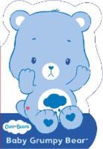 Care Bears: Baby Grumpy Bear: Shaped Board Book 2 - Care Bears - cover