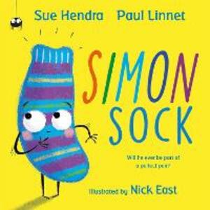 Simon Sock - Sue Hendra,Paul Linnet - cover