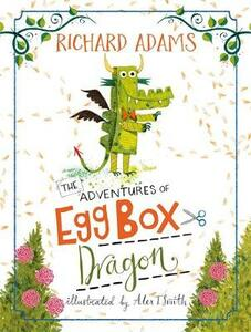 The Adventures of Egg Box Dragon - Richard Adams - cover