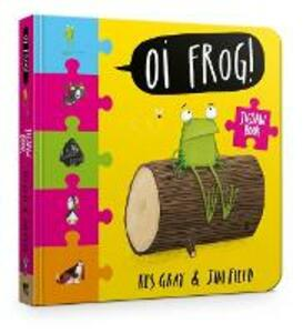 Oi Frog! Jigsaw Book - Kes Gray - cover