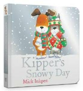 Kipper's Snowy Day Board Book - Mick Inkpen - cover