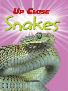 Up Close: Snakes - Paul Harrison - cover