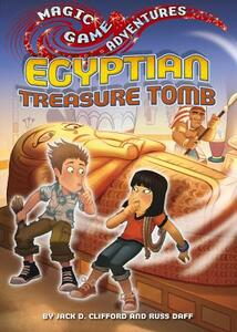 Egyptian Treasure Tomb - Jack D. Clifford - cover