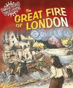 Great Events: Great Fire Of London - Gillian Clements - cover