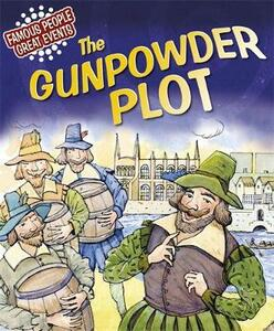 Great Events: The Gunpowder Plot - Gillian Clements - cover