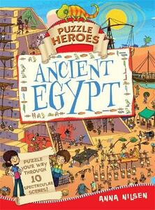 Puzzle Heroes: Ancient Egypt - Anna Nilsen - cover