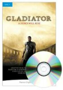 Level 4: Gladiator Book and MP3 Pack - Dewey Gram - cover