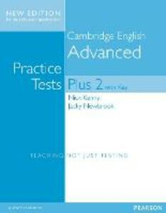 Cambridge Advanced Volume 2 Practice Tests Plus New Edition Students' Book with Key - Nick Kenny,Jacky Newbrook - cover