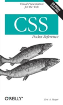 CSS Pocket Reference - Eric A. Meyer - cover