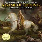 Libro in inglese Quotes from George R. R. Martin's a Game of Thrones Book Series Day-To-Day Calendar George R R Martin