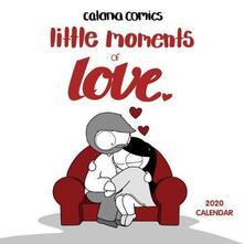 Catana Comics Little Moments of Love 2020 Square Wall Calendar - Catana Chetwynd - cover
