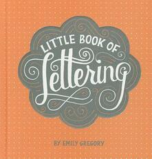 Little Book of Lettering - Emily Gregory - cover