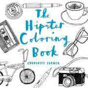 Libro in inglese The Hipster Coloring Book Charlotte Farmer