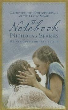 The Notebook - Nicholas Sparks - cover