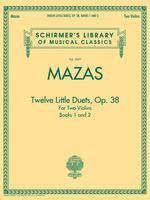 Twelve Little Duets for Two Violins Op. 38