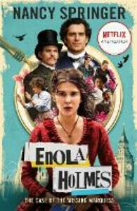 Libro in inglese Enola Holmes: The Case of the Missing Marquess - As seen on Netflix, starring Millie Bobby Brown Nancy Springer