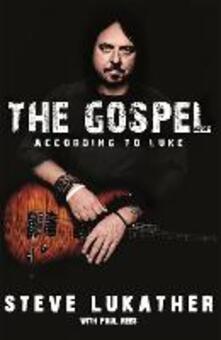 The Gospel According to Luke - Steve Lukather,Paul Rees - cover
