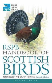 RSPB Handbook of Scottish Birds: Second Edition - Peter Holden,Stuart Housden - cover