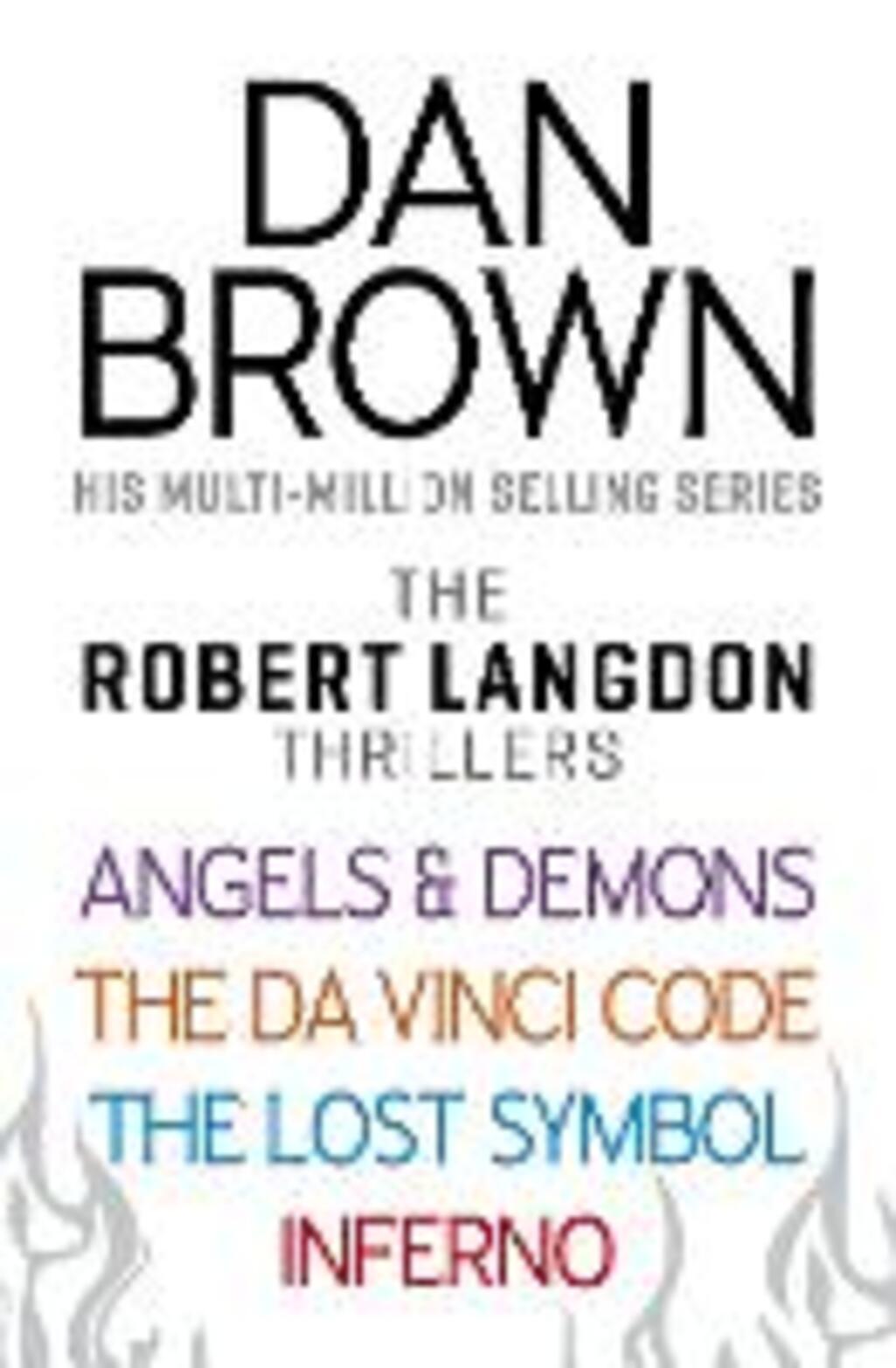 Dan Browns Robert Langdon Series Bundle Brown Dan Ebook In