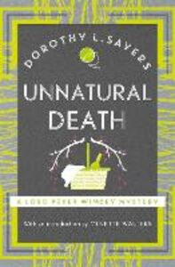 Libro in inglese Unnatural Death  - Dorothy L. Sayers