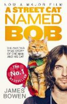 A Street Cat Named Bob: How one man and his cat found hope on the streets - James Bowen - cover