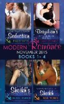 Modern Romance November 2015 Books 1-4