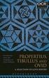 Propertius, Tibullus and Ovid: A Selecti