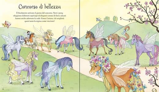 Pony magici. Con adesivi - Lesley Sims,Zanna Davidson,Barbara Bongini - 3