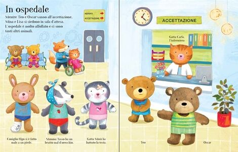 Libro Vesto gli orsetti in ospedale. Ediz. illustrata Felicity Brooks , Ag Jatkowska 1