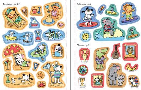 Foto Cover di Le vacanze. Coloro e incollo. Con adesivi, Libro di Jessica Greenwell,Stacey Lamb, edito da Usborne Publishing 3