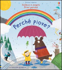 Foto Cover di Perché piove?, Libro di Katie Daynes,Christine Pym, edito da Usborne Publishing
