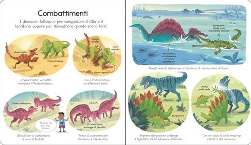 Il mondo dei dinosauri. Ediz. illustrata - Alex Frith,Lee Cosgrove - 2