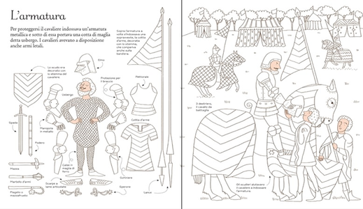 Libro Cavalieri e castelli Abigail Wheatley , Sophie Crichton 2