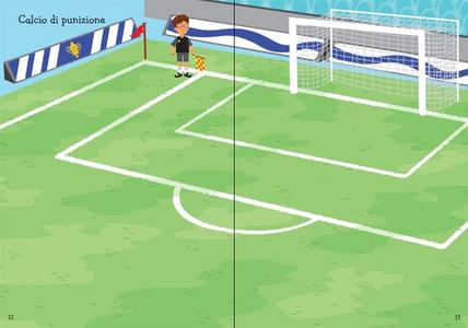 Libro 1000 adesivi sul calcio Fiona Watt , Mattia Cerato 1