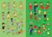 Libro 1000 adesivi sul calcio Fiona Watt , Mattia Cerato 3