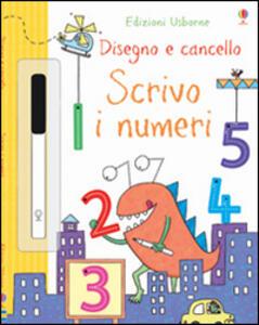 Scrivo i numeri. Disegno e cancello. Ediz. illustrata. Con gadget - Jessica Greenwell,Kimberley Scott - copertina