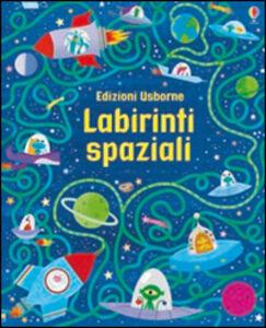Libro Labirinti spaziali. I grandi libri dei labirinti  0