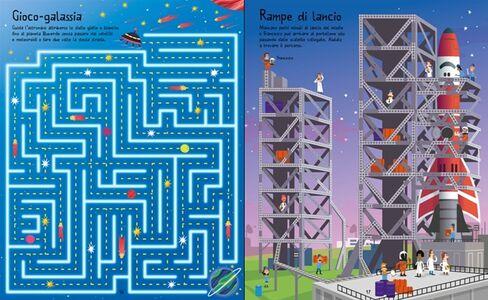 Libro Labirinti spaziali. I grandi libri dei labirinti  1