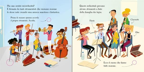 Libro L' orchestra. Scopro la musica Sam Taplin , Sean Longcroft 1