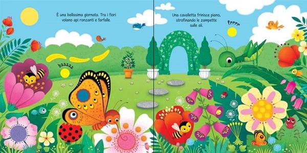 Libro Il giardino. Libri tattili sonori Sam Taplin , Federica Iossa 2