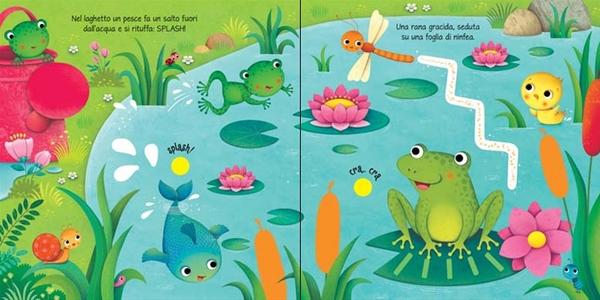 Libro Il giardino. Libri tattili sonori Sam Taplin , Federica Iossa 3